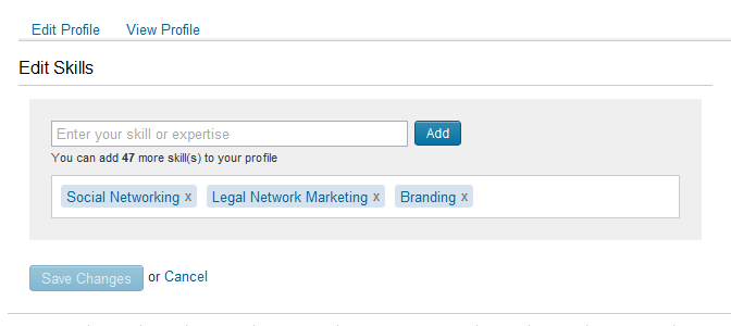 how to add skills to someone on linkedin
